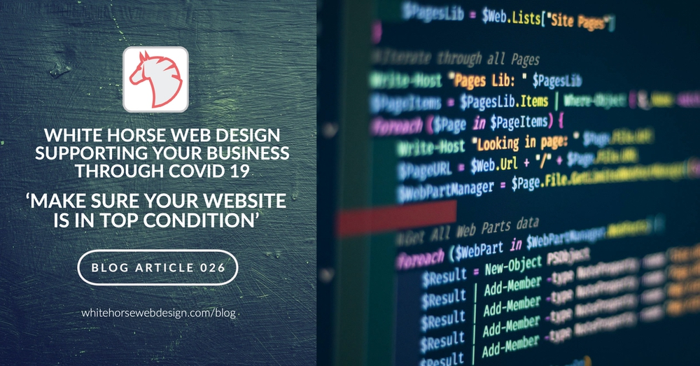 Make Sure Your Website Is In Top Condition